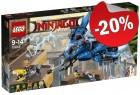 LEGO 70614 Bliksemstraaljager, slechts: € 55,99