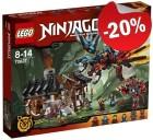 LEGO 70627 Drakensmederij, slechts: € 71,99