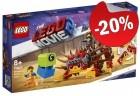 LEGO 70827 Ultrakatty en Strijder Lucy, slechts: € 23,99