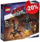 LEGO 70836 Gevechtsklare Batman en Metaalbaard, slechts: € 15,99