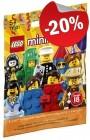 LEGO 71021 Minifiguur Serie 18 (Polybag), slechts: € 3,19