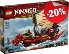 LEGO 71705 Destiny's Bounty, slechts: € 111,99