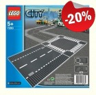 LEGO 7280 Grondplaten Kruising en Rechte Weg, slechts: ¬ 7,99