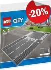 LEGO 7280 Grondplaten Kruising en Rechte Weg, slechts: € 7,99