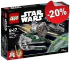 LEGO 75168 Yoda's Yedi Starfighter, slechts: € 27,99