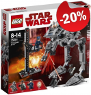 LEGO 75201 First Order AT-ST, slechts: € 51,99