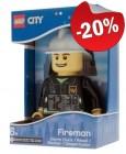 LEGO Alarmklok City Brandweerman, slechts: ¬ 31,99
