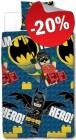 LEGO Dekbedovertrek Batman Team Hero, slechts: € 23,99