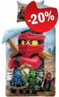 LEGO Dekbedovertrek Ninjago Kai 2-in-1, slechts: € 23,99
