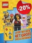 LEGO Helden - Het Grote Spelletjesboek, slechts: € 5,59