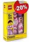 LEGO Kinderhorloge Classic Pink, slechts: € 23,99