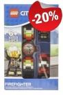 LEGO Kinderhorloge Minifiguur Link City Brandweerman, slechts: € 23,99