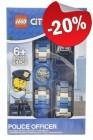 LEGO Kinderhorloge Minifiguur Link City Politieagent, slechts: € 23,99