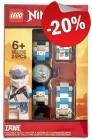 LEGO Kinderhorloge Minifiguur Link Ninjago Zane, slechts: € 23,99