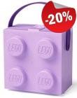 LEGO Lunchbox met Hendel LAVENDEL, slechts: € 14,39