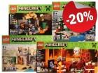 LEGO Minecraft Microworld 4-PACK