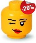 LEGO Storage Head S Girl Knipoog, slechts: € 11,99