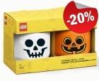 LEGO Storage Head L Halloween Duo Pack, slechts: € 39,99