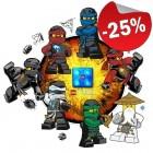 LEGO LED Nachtlamp Ninjago Sky Pirates, slechts: ¬ 14,99