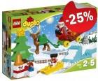 DUPLO 10837 Wintervakantie van de Kerstman, slechts: € 22,49