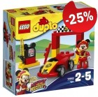 DUPLO 10843 Mickey's Racewagen, slechts: € 11,99