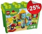 DUPLO 10864 Grote Speeltuin - Opbergdoos, slechts: € 37,49