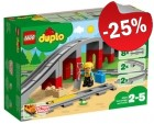 DUPLO 10872 Treinbrug en -rails, slechts: € 18,74