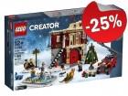 LEGO 10263 Winterdorp Brandweerkazerne, slechts: € 74,99