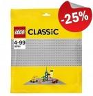 LEGO 10701 Grondplaat 48x48 LICHTGRIJS, slechts: € 11,99