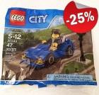 LEGO 30349 Sportauto en Stoplicht (Polybag), slechts: € 2,99