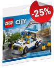 LEGO 30352 Politiewagen (Polybag), slechts: € 2,99