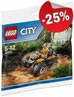 LEGO 30355 Jungle ATV (Polybag), slechts: € 2,99