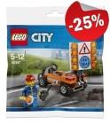 LEGO 30357 Wegenbouwer (Polybag), slechts: € 2,99