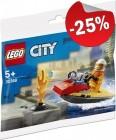 LEGO 30368 Brandweer Waterscooter (Polybag), slechts: € 2,99