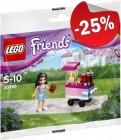 LEGO 30396 Cupcake Kraam (Polybag), slechts: € 2,99
