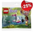 LEGO 30403 Olivia's Afstandbedienbare Boot (Polybag), slechts: € 2,99