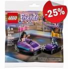 LEGO 30409 Emma's Botsauto (Polybag), slechts: € 2,99