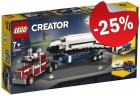 LEGO 31091 Spaceshuttle Transport, slechts: € 20,24