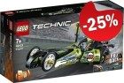 LEGO 42103 Dragster, slechts: € 14,99