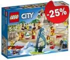LEGO 60153 Personenset - Plezier aan het Strand, slechts: € 37,49