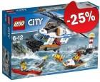 LEGO 60166 Zware Reddingshelikopter, slechts: € 37,49