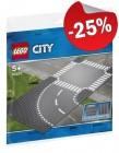 LEGO 60237 Grondplaten Bocht en Kruising, slechts: € 7,49