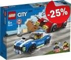 LEGO 60242 Politie Snelweg Arrestatie, slechts: € 14,99