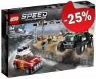 LEGO 75894 Mini Cooper S Rally en MINI John Cooper Works Buggy, slechts: € 41,24