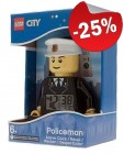 LEGO Alarmklok City Politie Agent, slechts: € 29,99
