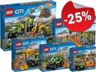 LEGO City Vulkaan Collectie 2016