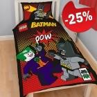 LEGO Dekbedovertrek Batman 2-in-1 Pow!