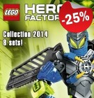 LEGO Hero Factory Collection 2014