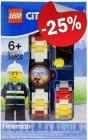 LEGO Kinderhorloge City Brandweer, slechts: ¬ 22,49