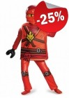 LEGO Kostuum Deluxe Kai (Maat 110-128), slechts: € 29,99